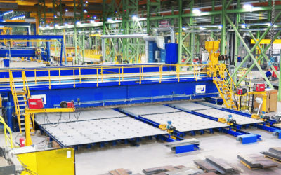 Highly advanced PEMA Panel line brings safety and precise quality to Irving's shipyard