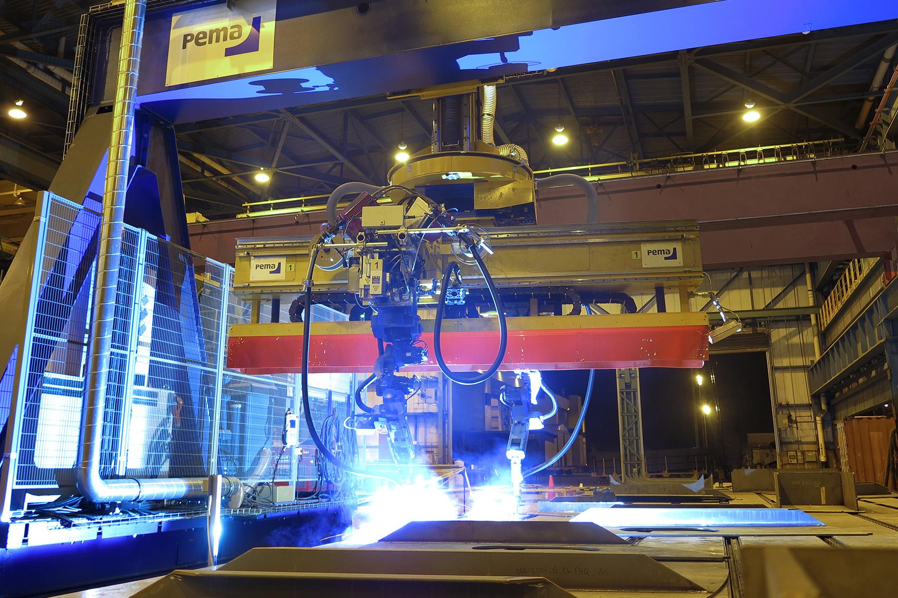 Production Automation For Shipbuilding Pemamek