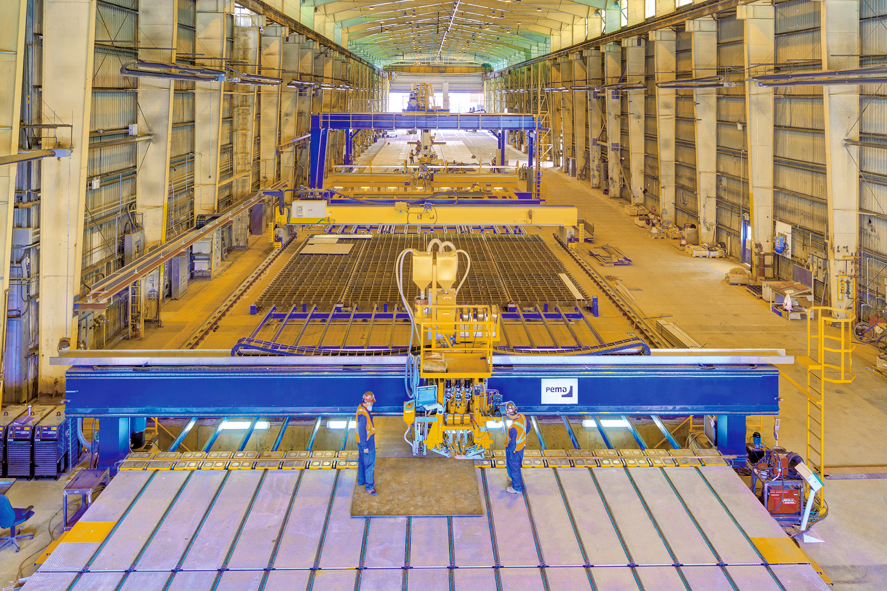 Shipbuilding-welding and production automation | Pemamek
