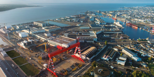 Chantiers de l'Atlantique orders two PEMA Panel cutting stations to Saint-Nazaire shipyard