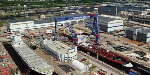 Aker Philadelphia Shipyard selected Pemamek to supply a modern micropanel welding solution
