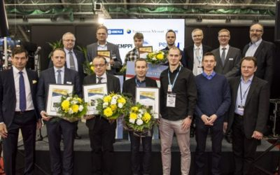 "Pemamek receives the ""Best Welding Technology Supplier"" award"