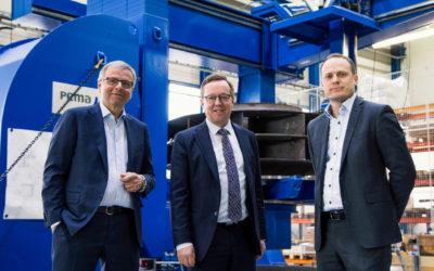 Finland Minister of Economic Affairs visits Pemamek