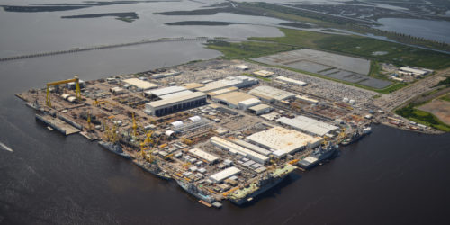 Ingalls Shipbuilding orders automated PEMA Bulkhead production line to Pascagoula shipyard