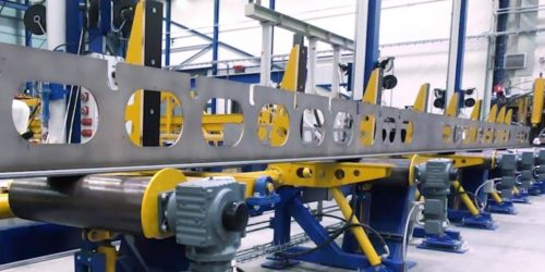 PEMA T-beam production line improves shipbuilding efficiency