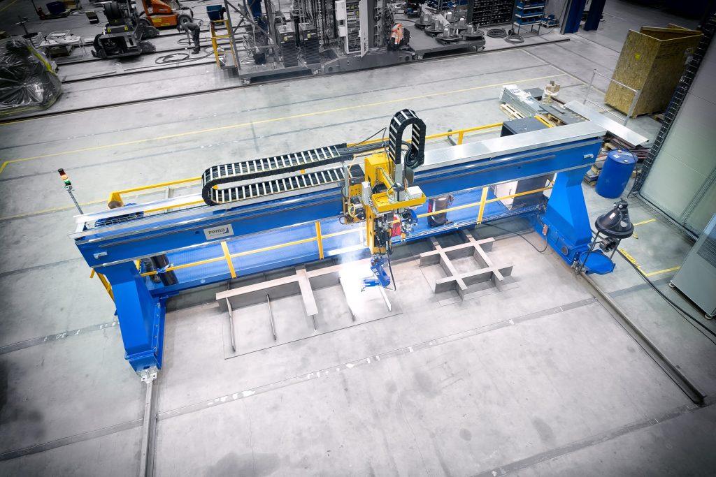 robotic welding shipbuilding