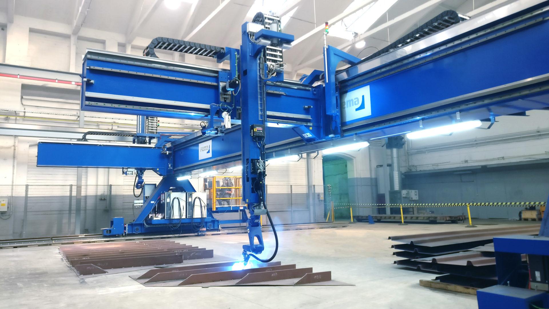 robotic welding for shipbuilding
